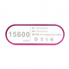 Solder-Free Replaceable 6 x 18650 Batteries 10000mAh Mobile Power Bank - Deep Pink