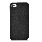 Protective Plastic Back Case for IPHONE 4 / 4S - Black