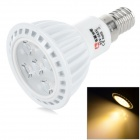 LeXing Lighting E14 5W LED Spotlight Warm White 3500K 330lm SMD 2835 (AC 85~265V)