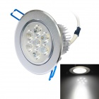 Jiawen 7W LED Deckenleuchte 700lm 6500K White Light - Silver (AC 100 ~ 240V)