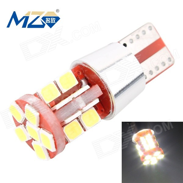 MZ T10 11W 6500K 1100lm 22-SMD 2835 White Car Lamp (12~18V)
