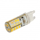 G9 2.5W LED Corn Bulb Warm White Light 220lm 3000K 36-2835 SMD - White (AC 220~240V)