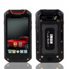 "iMAN i5800 Android 4.4 Quad-Core 3G Rugged Phone w/ 4.5"" IPS HD, 8MP, 8GB ROM, Wi-Fi, GPS - Black"