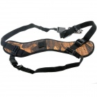 Neck Shoulder Nylon Camera Strap Single Shoulder Sling - Yellow