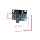 ZnDiy-BRY 1-Channel 5V Solid State Relay Module w/ Fuse (240V / 2A)