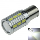 1156 / BA15S 7W 700lm 6000K 18-SMD 5630 + 1 x LED White Car Steering Turn Signal Blub (DC 12V)