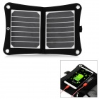 Outdoor Portable Folding Ultra-Light 7W Solar Panel Powered Quick-Charging Charger w/ USB 2.0 Output