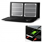 High Efficiency 40W Solar Power Folding Panel for IPHONE / Samsung / Laptop - Black + White