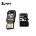 Kingston Class 10 8GB Micro SD / TF Card w/ Card Reader - Black