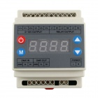 DMX Output 3-Channel Signal 0~10V 4-Key Dimmer Controller for Lamps and Lights (AC 90~240V)