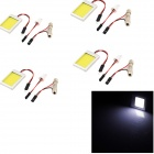 YouOKLight T10 / Festoon 12W LED Car Dome / Reading Light  White Light 6000K 1100lm (12V / 4 PCS)