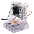 NEJE 250mW DIY Red Laser Engraving Machine Kit CNC Laser Printer - Transparent + Silver + More