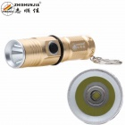 ZHISHUNJIA 1303-T6 XM-L T6 800lm 3-Mode White Light Flashlight w/ Keychain - Golden (1 x 16340)