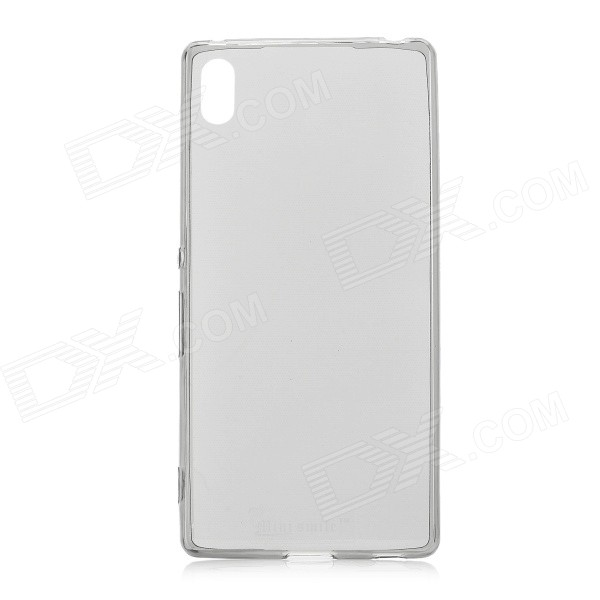 Mini Smile TPU Back Case for Sony Xperia Z4 - Translucent + Black