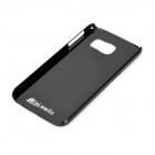 Mini smile Aluminum Alloy Back Case for Samsung S6 / G9200 - Black