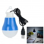 Energy-Saving USB 5W LED Light Bulb Cool White 120lm 7500K - Blue (5V)
