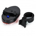 XM-L 9-LED Red Light 1-Mode Bike Tail Lamp w/ Mount Holder (2 * AAA)