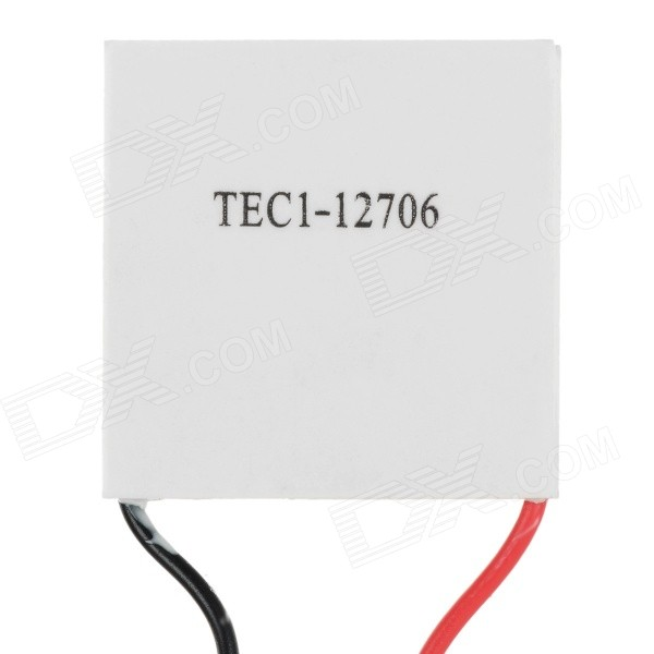 DIY TEC1-12706 40 x 40mm Cooling Piece for Water Dispenser Cooling Device - White