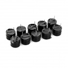 5V Active Buzzers - Black (10 PCS)