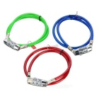 4-Digits Resettable Bicycle Lock - Small (Color-Assorted)