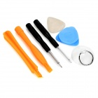 Repairing Stainless Steel + Plastic Tool Set for IPHONE 6 / 5S / 5 - Orange + Black + Multicolor