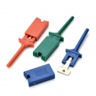 DIY PC Test Clip / Clamp Set - Multicolored (6 x 10 PCS)