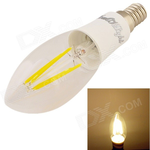 YouOKLight E14 4W Warm White 3000K 380lm Filament Lamp (85~265V)