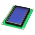 "3.2"" White on Blue LCD Display Screen Module w/ Chinese Character Stock / Backlight - Deep Blue"