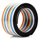 PVC DIY 20Pin Flex cabo para teste - Red + Blue + multicolorido (97cm)