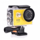 "EOSCN HD1080P 2"" LCD LTPS LCD Waterproof Sports Camera 2/3"" CMOS 5.0MP Action Camcorder - Yellow"