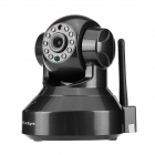 "SunEyes SP-HM01WP 720P 1/4"" CMOS 1.0MP HD Wireless IP Camera w/ 10-IR LED / P2P - Black (AU Plug)"