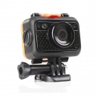"HD 1080P mini sport DV 5.0 MP 1 / 2.7"" waterbestendige camera - zwart"