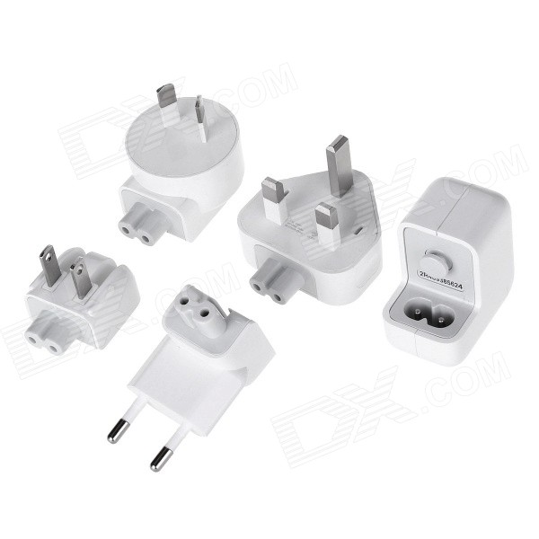 5V / 1A USB Output Power Adapter Charger w/ US / EU / UK / AU Adapters