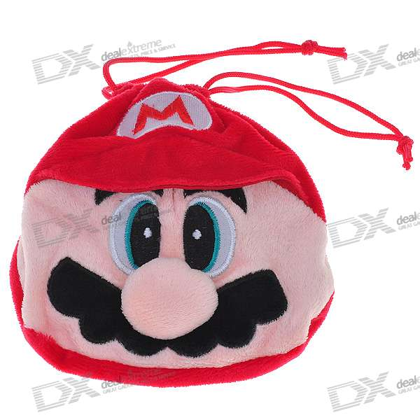 Cute Super Mario Figure Plush Bag (Color Assorted)