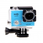 "EOSCN 30M Waterproof 1080P Full HD 2"" LCD 12.0MP CMOS Wi-Fi Sports Camera - Blue"