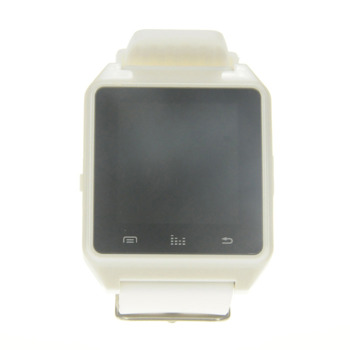 "RWATCH M28 Waterproof 1.3"" IPS Smart Bluetooth Watch/Pedometer - White"
