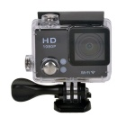 "EOSCN 30M Waterproof 1080P Full HD 2"" LCD 12.0MP CMOS Wi-Fi Sports Camera - Black"