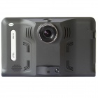 "Q800 7"" HD 1080P Android 4.4 GPS Navigator & Car DVR Camera w/ Radar Detector, 16GB, US & CA Map"