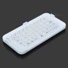 49-Key Wireless Bluetooth Keyboard w/ Stand for IPHONE 6 PLUS - White