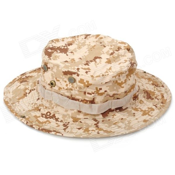 Wide Camouflage Hat (Color Assorted)