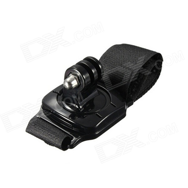 "360"" Rotary Hand Wrist Strap Mount w/ Turn Lock for GoPro Hero - Black"