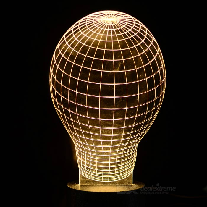 finesource 3D lamp patroon 500lm warm wit sfeer lamp ...