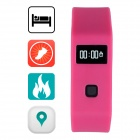 "Aoluguya S16 Bluetooth V4.0 Smart Bracelet w/ 0.49"", Calorie Measuring, Pedometer, Sleep Monitor"