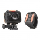 "Ourspop S70 1.5"" 1080P HD CMOS Waterproof 170' Wide-Angle Wi-Fi Sports DV Camera w/ Bluetooth Watch"