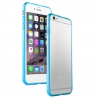 Bumper Case + Tempered Glass Film + Lens Ring for IPHONE 6 Plus - Blue