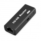 USB 2.0 150Mbps 3G/4G Wi-Fi Wireless Router - Black