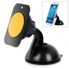 Universal 360 Degree Rotary Magnetic Car Suction Cup Holder for IPHONE / GPS / Tablet + More - Black