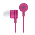 Xiaomi Universal 3.5mm Jack Plug In-Ear Stereo Earphones w/ Microphone & Wire Control - Deep Pink