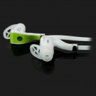 S-what S800 Smart Bluetooth intra-auriculaire avec microphone - blanc + vert