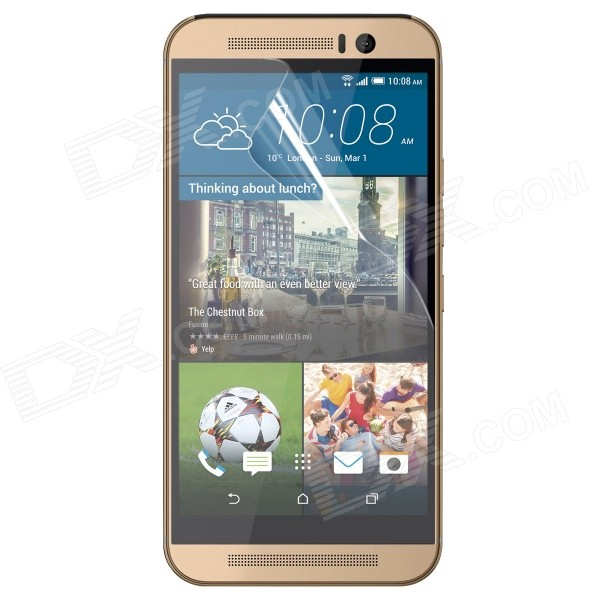 ENKAY Clear Protective PET Screen Protector Film Guard for HTC One M9 - Transparent